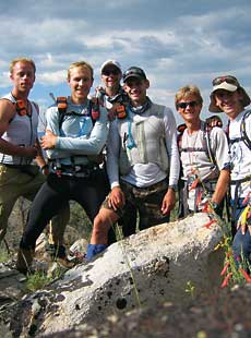 Searchers in the Bodie Hills: Gary Hudson, Greg Marshall, Paul Trebilcock, Simon Donato, Jim Mandelli, Derek Caveney by Greg Marshall