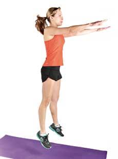 Jump Squat Step 2