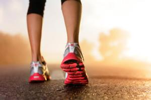 runner morning shoes