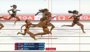 London 2012 1,500m semi-final finish