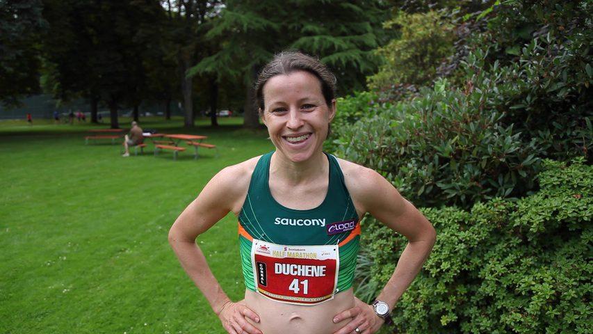 Krista DuChene 2013 Vancouver Half