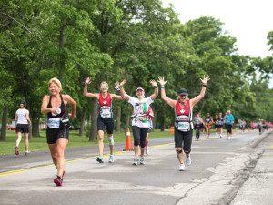 Women's Running-The 2012 Niagara Falls Women's Half Marathon