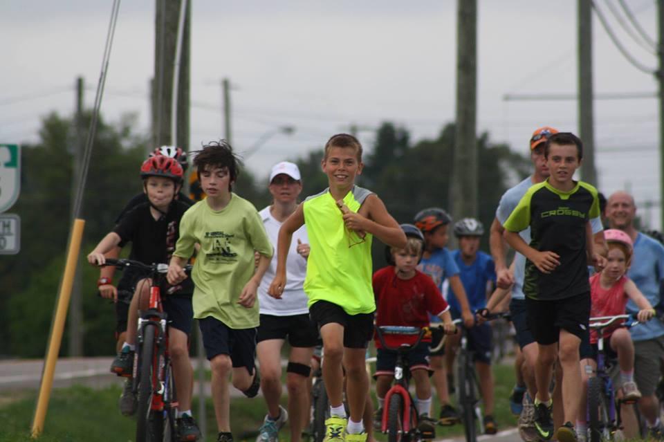 child marathoner