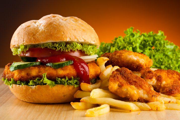 A high-fat diet can disrupt circadian rhythm.