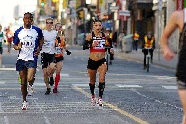 marathoner Lanni Marchant