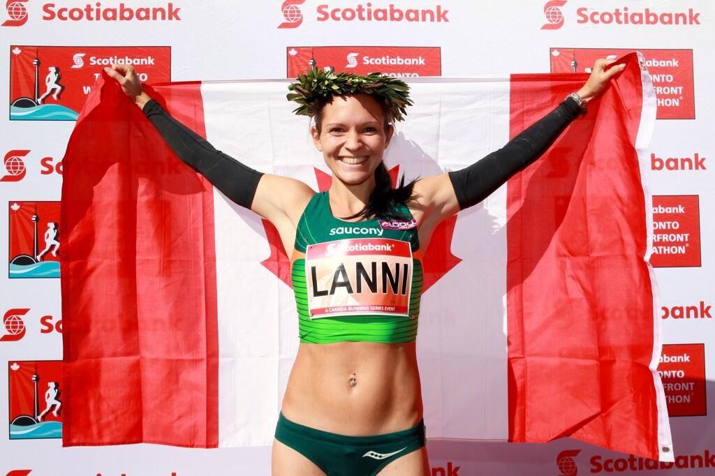 Lanni Marchant marathon canadian record STWM