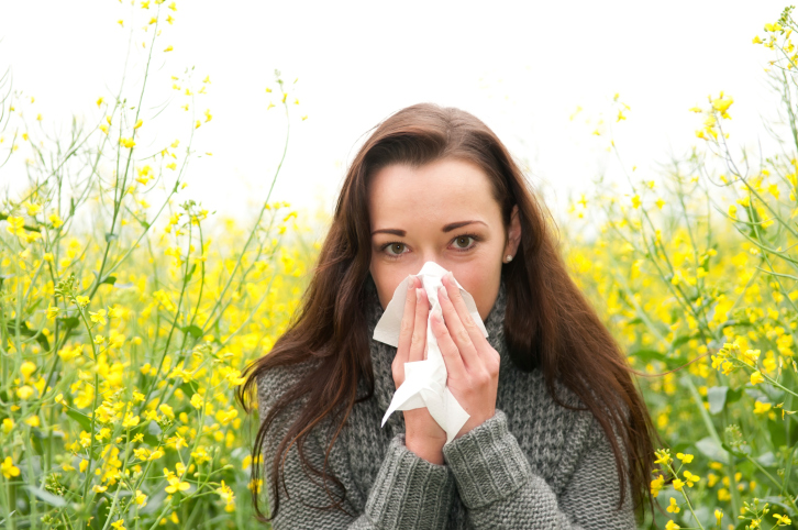 Spring allergies can be tough to handle as a runner.