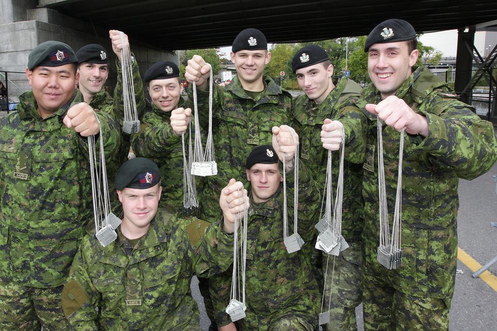 Canada Army Run and BMO sign three-year sponsorship agreement.