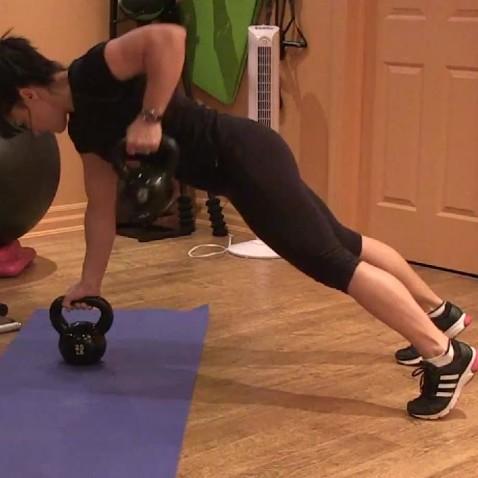 Asymmetrical core workout.