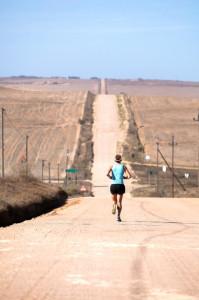 Long run in the summer