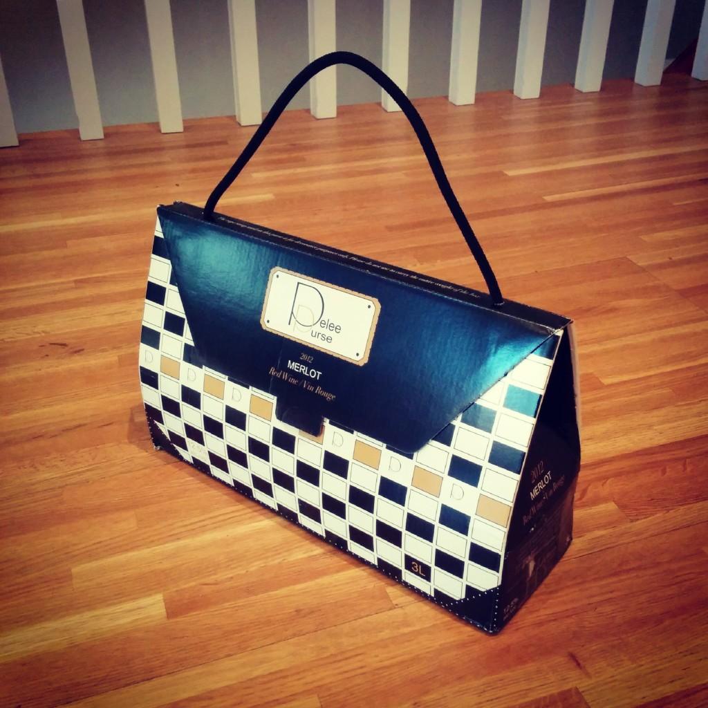 wine purse