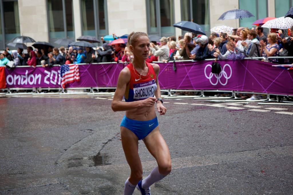 Liliya Shobukhova, Women's Marathon 2012 Olympics