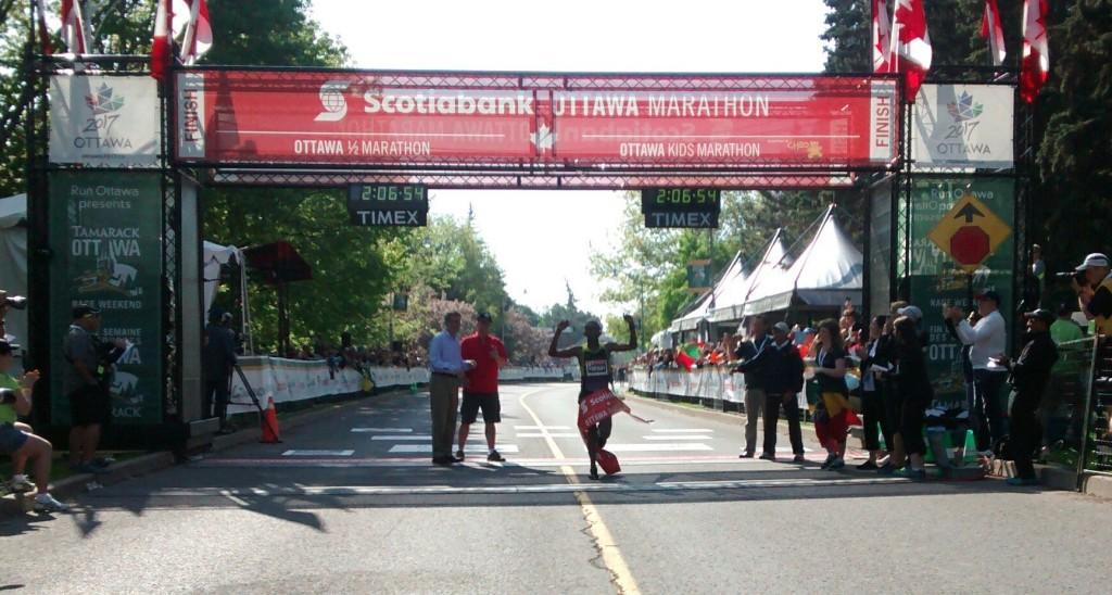 Yemane Tsegay Ottawa Marathon