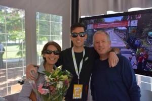 Rob Watson and parents.