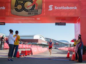 2014 Calgary Marathon Photo: Brendan Cleary