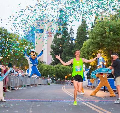 Disneyland half-marathon