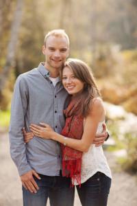 Chris Winter and Rachel Cliff