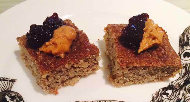 Cinnamon Quinoa Breakfast Bake