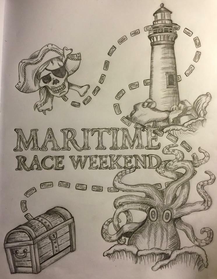 Maritime Race Weekend T-shirt design