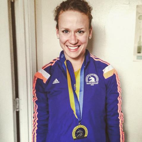 Boston Marathon Jessica Kuepfer