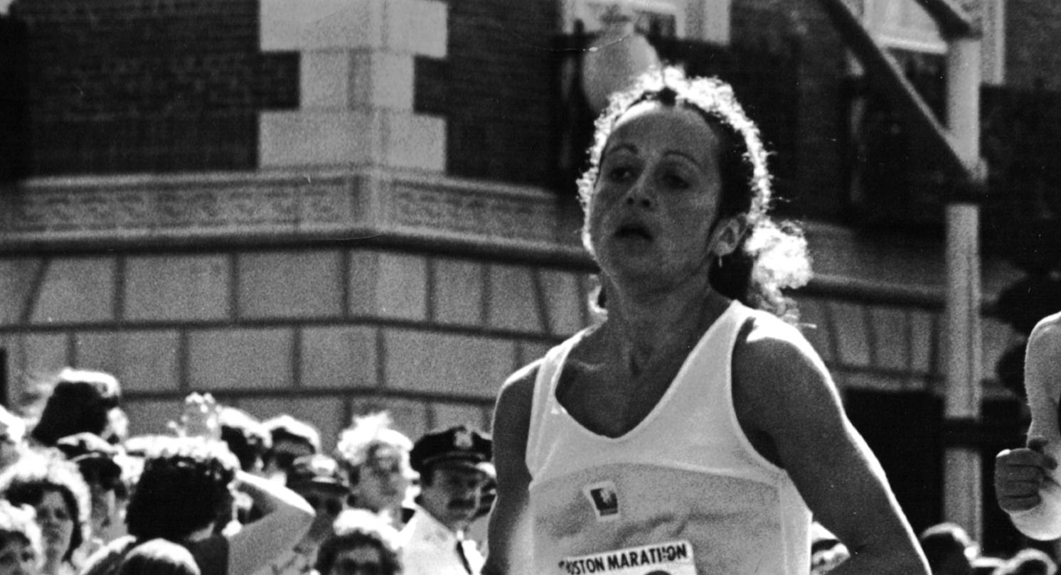 Jacqueline Gareau 1980 Boston Marathon