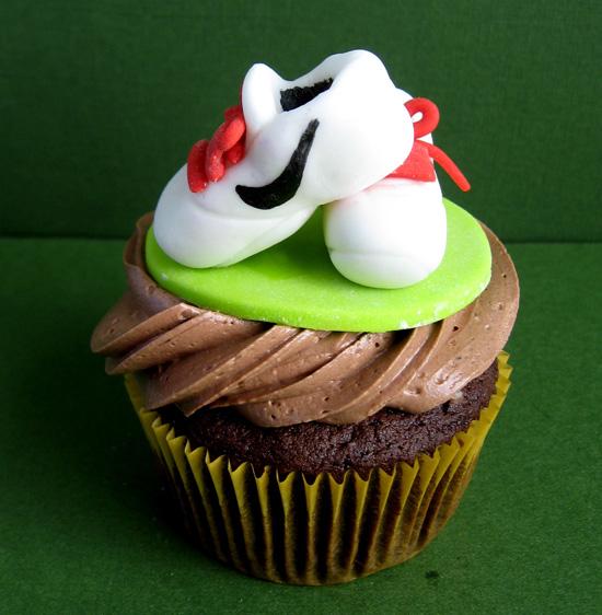 Running Shoe Cake Topper