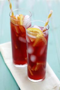 tangerine iced tea