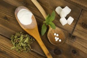 stevia and sugar