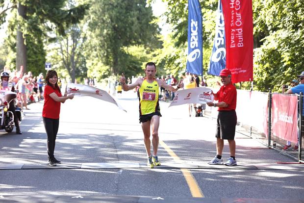 Reid Coolsaet Vancouver Half-Marathon