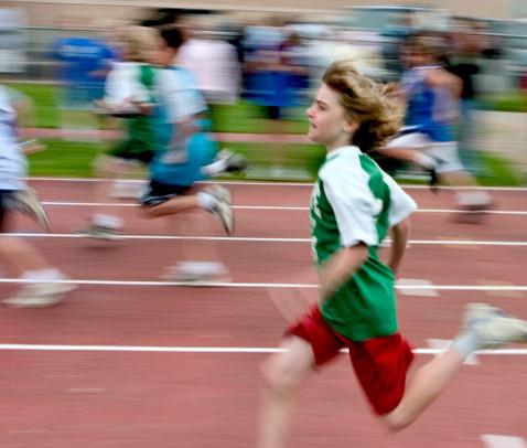 The 100 meter dash
