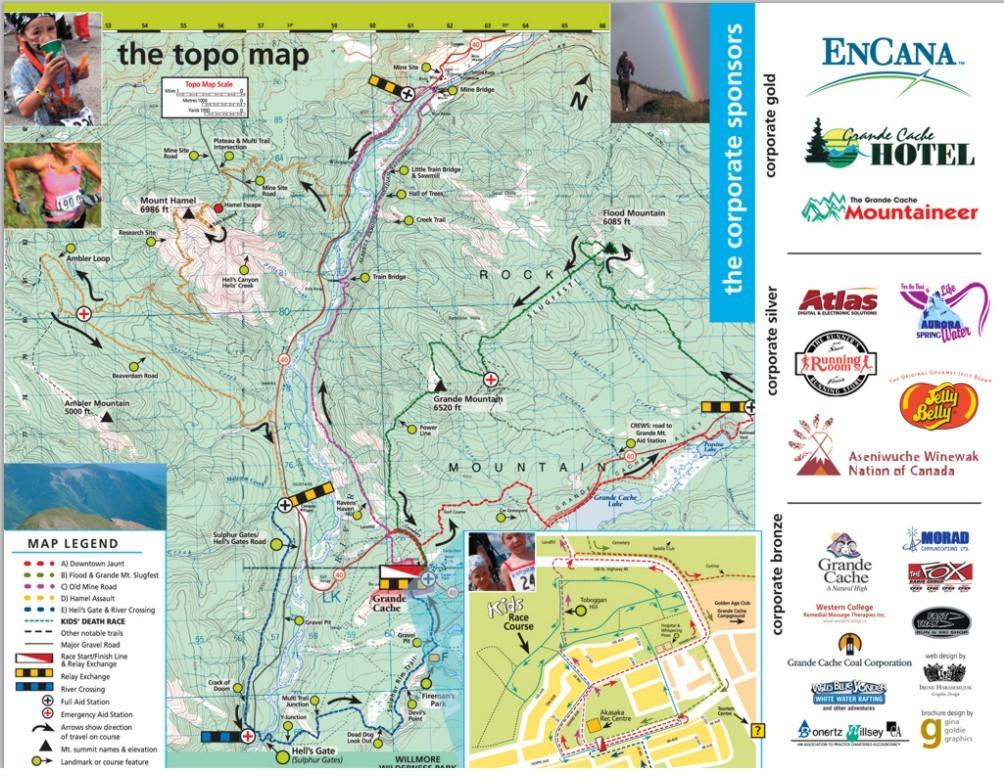 death race course map