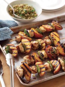 rosemary-peach-chicken-kebabs