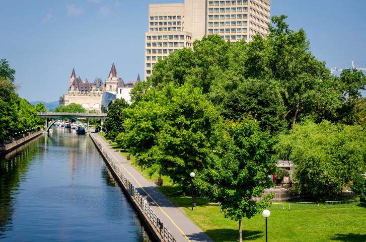 The Ottawa Rideau Canal