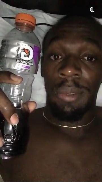 Usain Bolt Snapchat