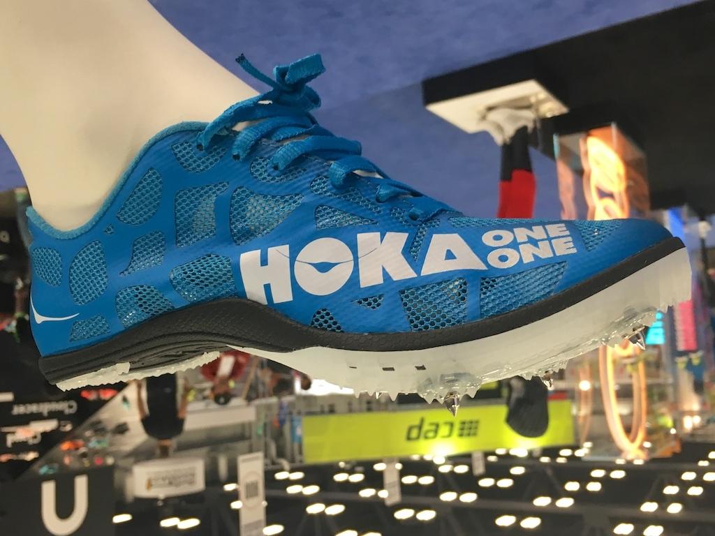 Hoka One One spikes