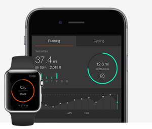 Strava, the popular running and cycling tracking app, ports its signature minimalist aesthetic to the Apple Watch.