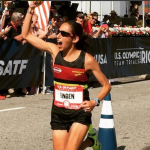 For even marathon splits, be like Des Linden, aka the human metronome
