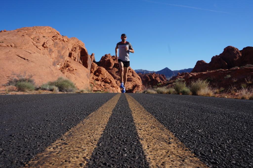 Calum Neff Indoor marathon