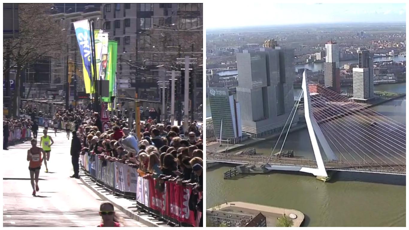 Erin Burrett Rotterdam Marathon