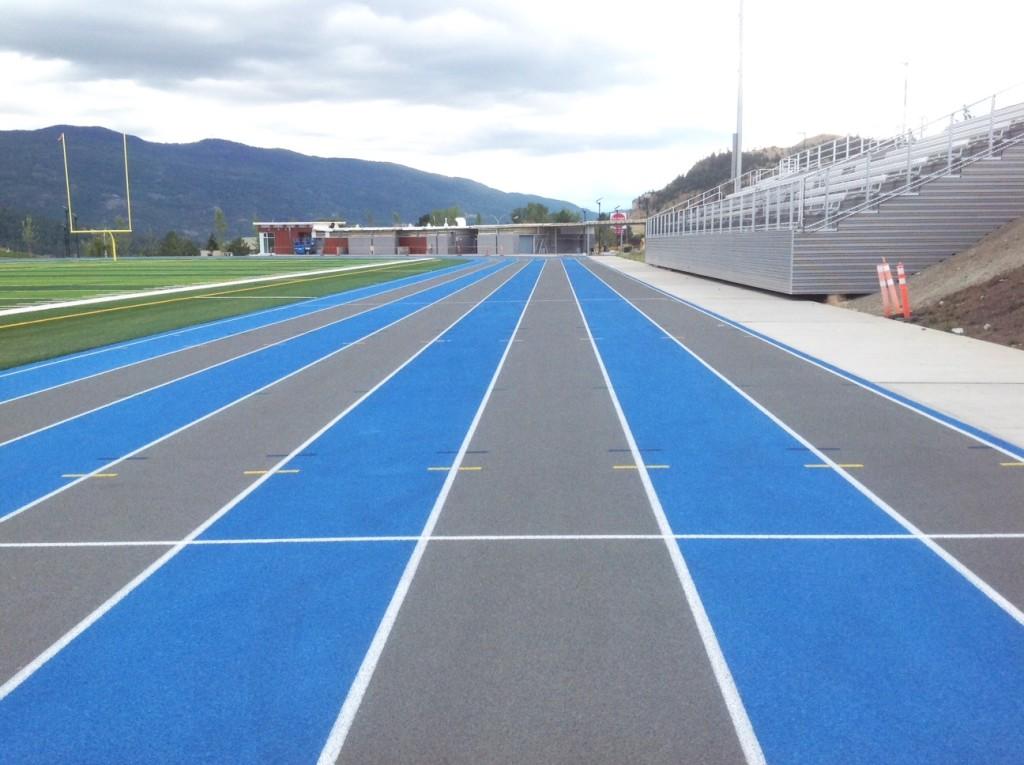 Vernon track facility
