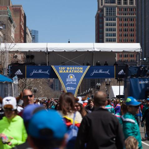 Canadians Boston Marathon