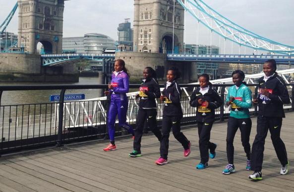 London Marathon women