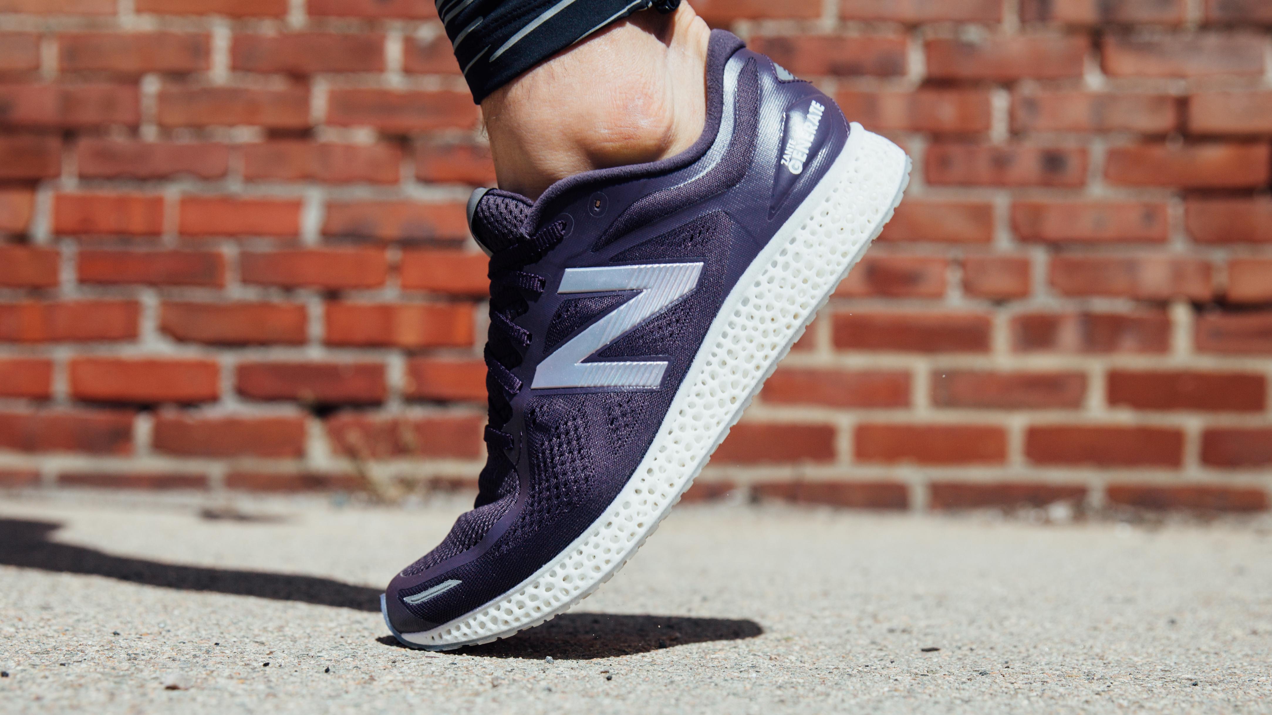 New Balance makes historic footwear