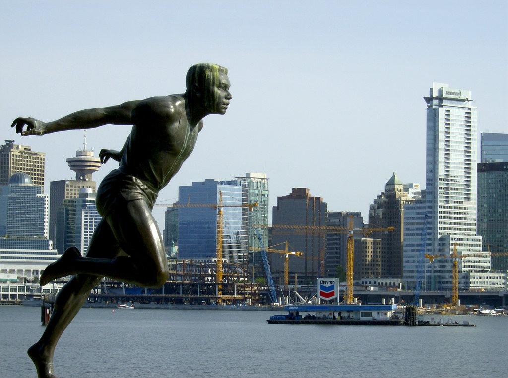 Harry Jerome Statue