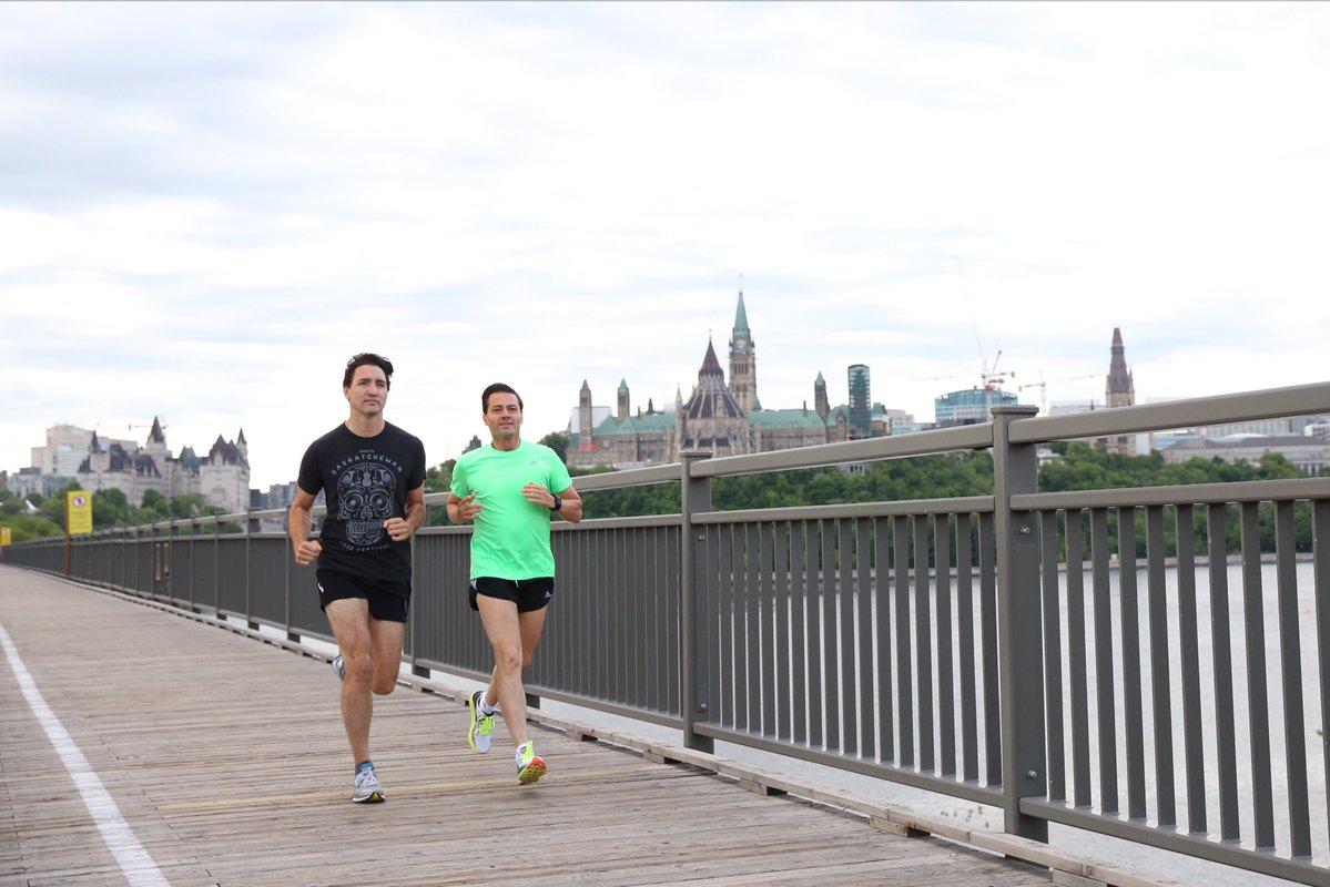 Justin Trudeau Running