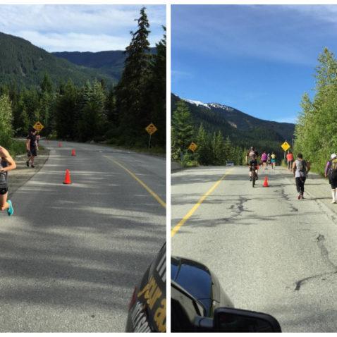 Whistler half-marathon