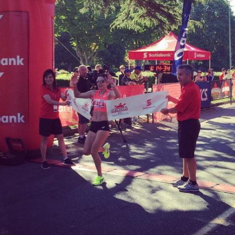 Scotia Vancouver half-marathon