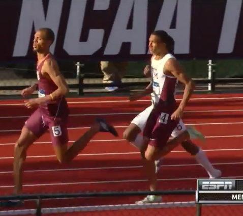 NCAA 800m