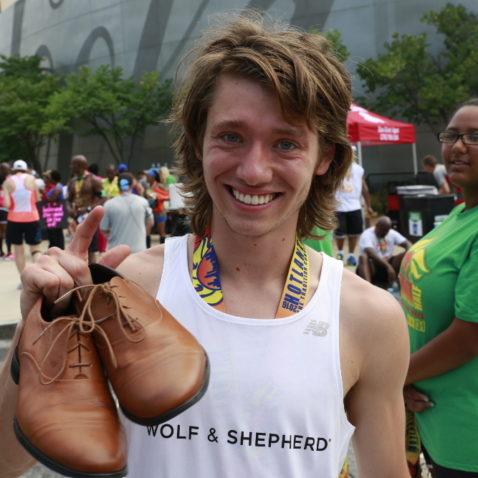 Half-marathon dress shoes