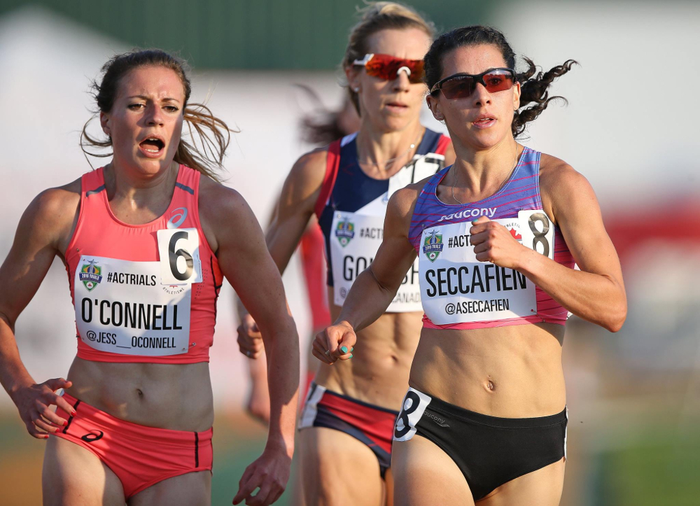 Canada's 5,000m Olympic team